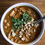 Vegan West African Peanut Soup