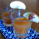 Spiced Maple Whiskey Cider Cocktail