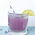 Spring Flowers Cocktail with Lilac Syrup