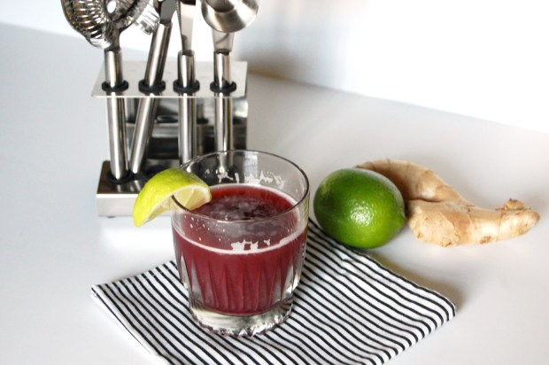 ginger lime cocktail recipe