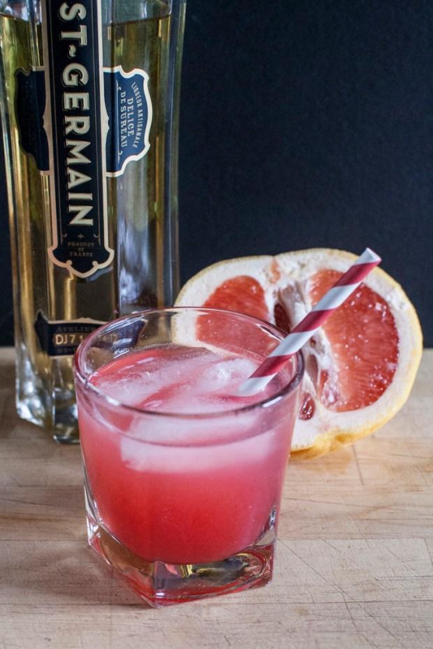 grapefruit raspberry cocktail recipe