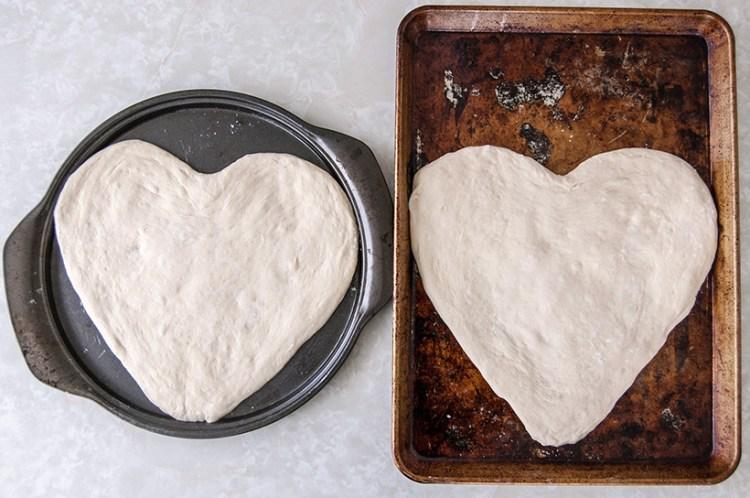 Valentine's Day idea: Make heart-shaped pizza