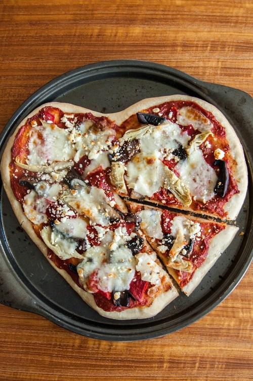 Valentine's Day recipe idea: Make heart-shaped pizza