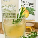Rosemary and Pear Cocktail