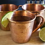 Spicy Moscow Mule Cocktail