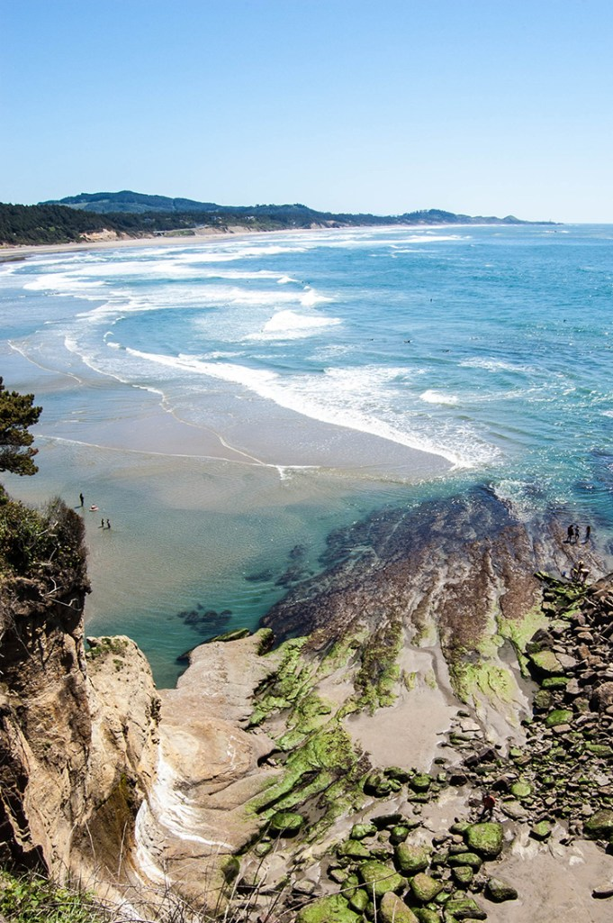 Oregon coast Devils Punchbowl Natural Scenic Area