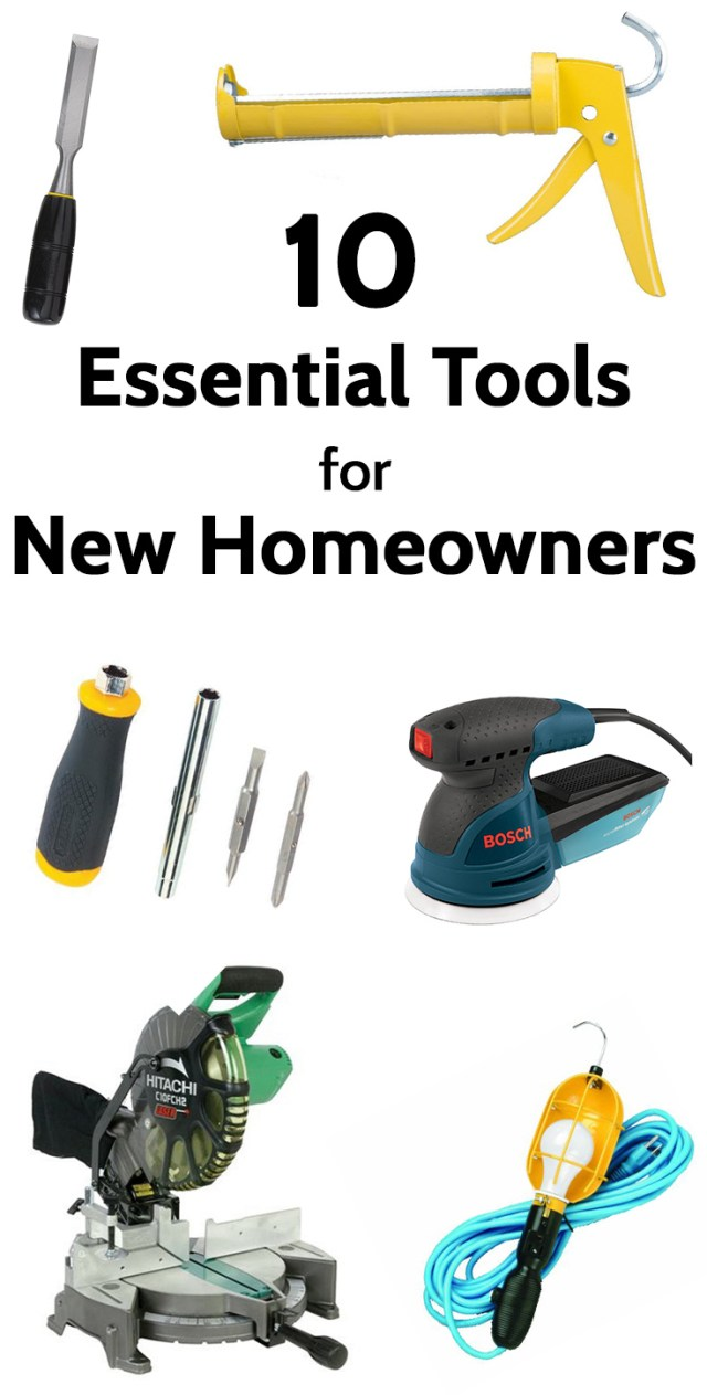 10 essential tools for new homeowners (and DIYers)