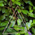 Make a Copper Triangle Mobile