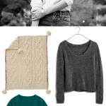 Outfits and Interiors: Cozy Sweater Knits