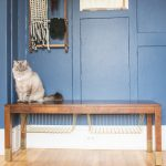 Entryway Bench Storage Hack