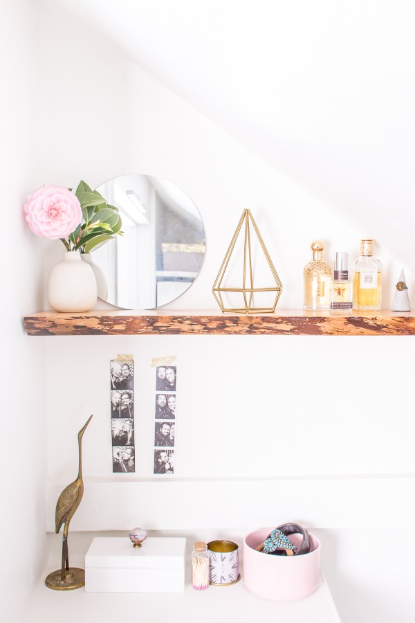 How to Hang Solid Wood Floating Shelves