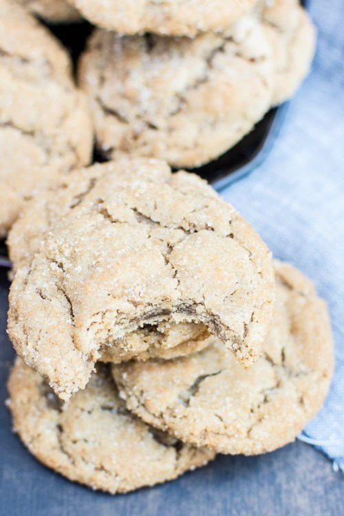 Get the recipe for these rich, decadent vegan brown butter sugar cookies.