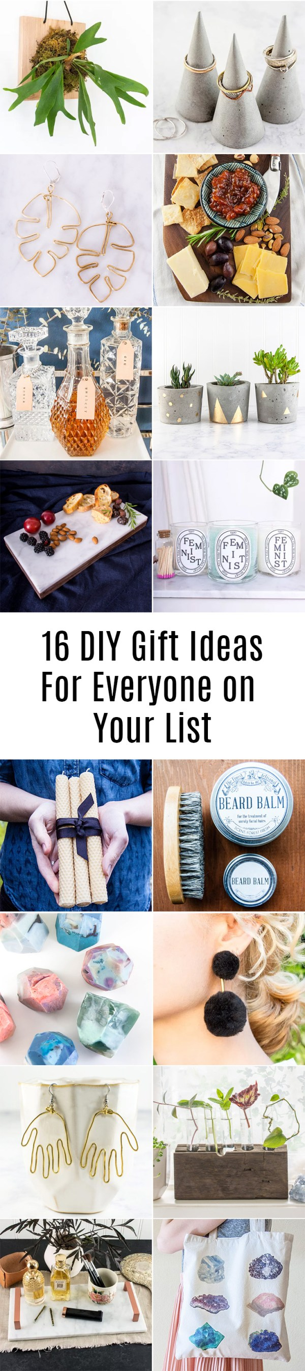 16 DIY Gifts Ideas For Everyone On Your List