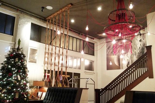 Commodore Hotel lobby