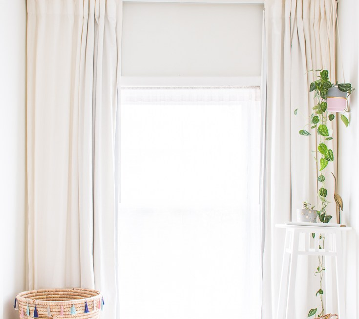 How to hang curtains right the first time
