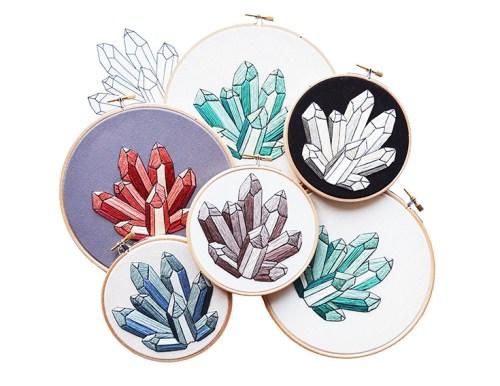 Sarah K. Benning embroidery pattern