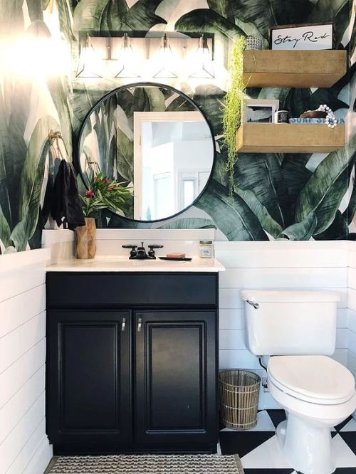 One Room Challenge bathroom by Southern Mesa Trading Co