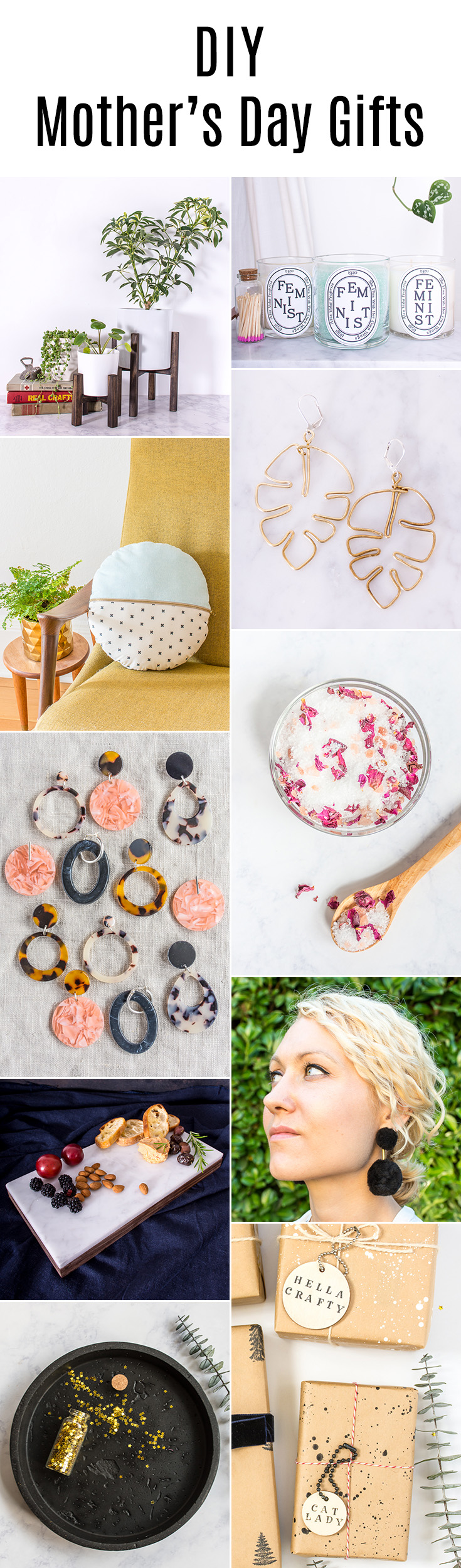 Want to make your mom a gift? This #DIY Mother's Day gift guide has you covered.