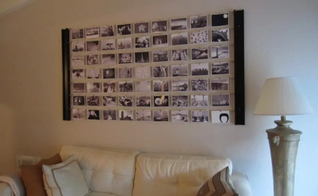 Diy Photo Wall Décor Idea Diyinspired
