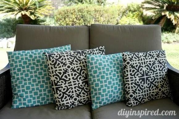 Envelope Pillow Tutorial  DIY Inspired