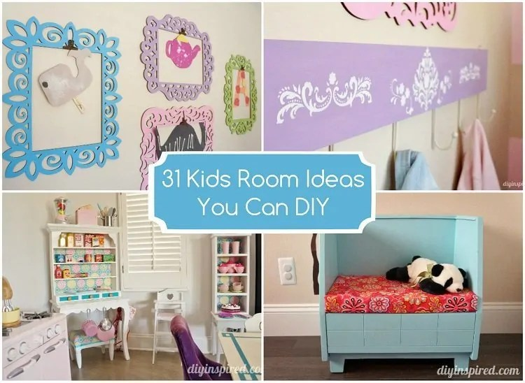 31 Kids Room Ideas You Can DIY