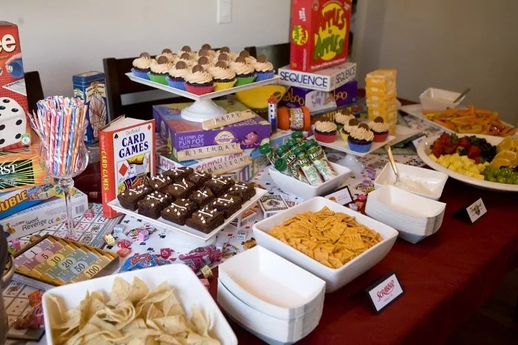 game night ideas for