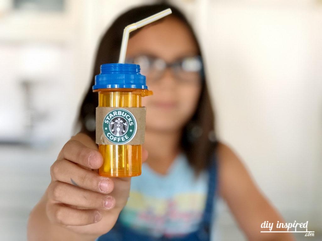 Diy Doll Starbucks Drinks
