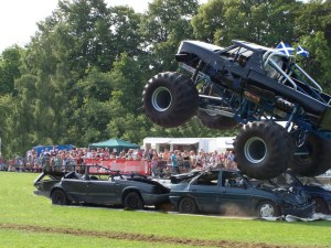 DIY Investor - Crushing it in the market - picture of monster truck