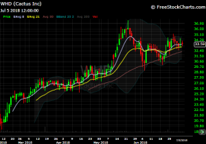 DIY Investor - 821x Model Trade - WHD chart