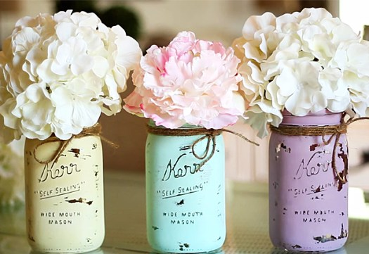 Painted Mason Jars Are Done Diy Projects Crafts By Joy At Http Diyjoy Com