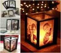 DIY Lamp Tutorial | Picture Frame Ideas at http://diyjoy ...