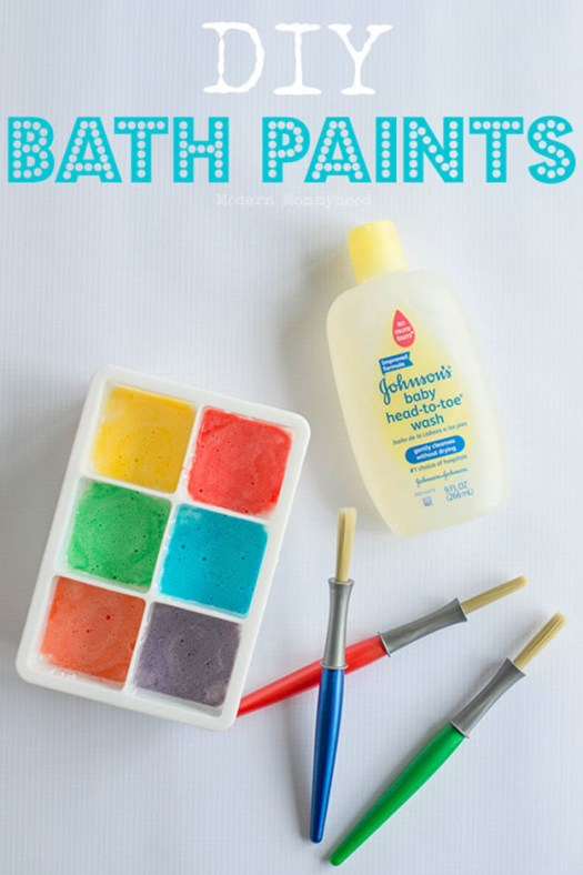 Fun Diy Arts And Crafts For Kids Easy Bath Paints Projects