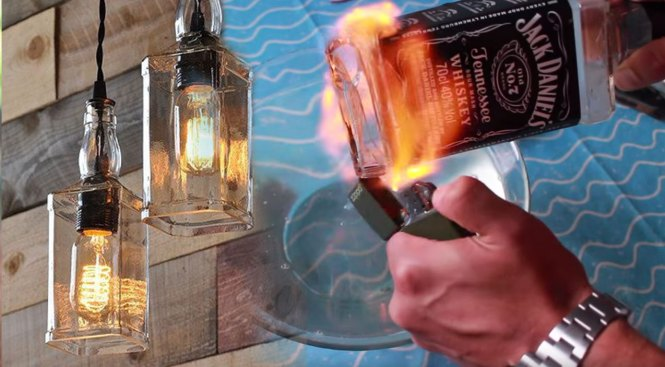 Upcycle Old Liquor Bottles Into This Incredible Diy Lighting Project Joy