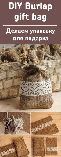 Burlap Sack Decor - Home Decorating Ideas