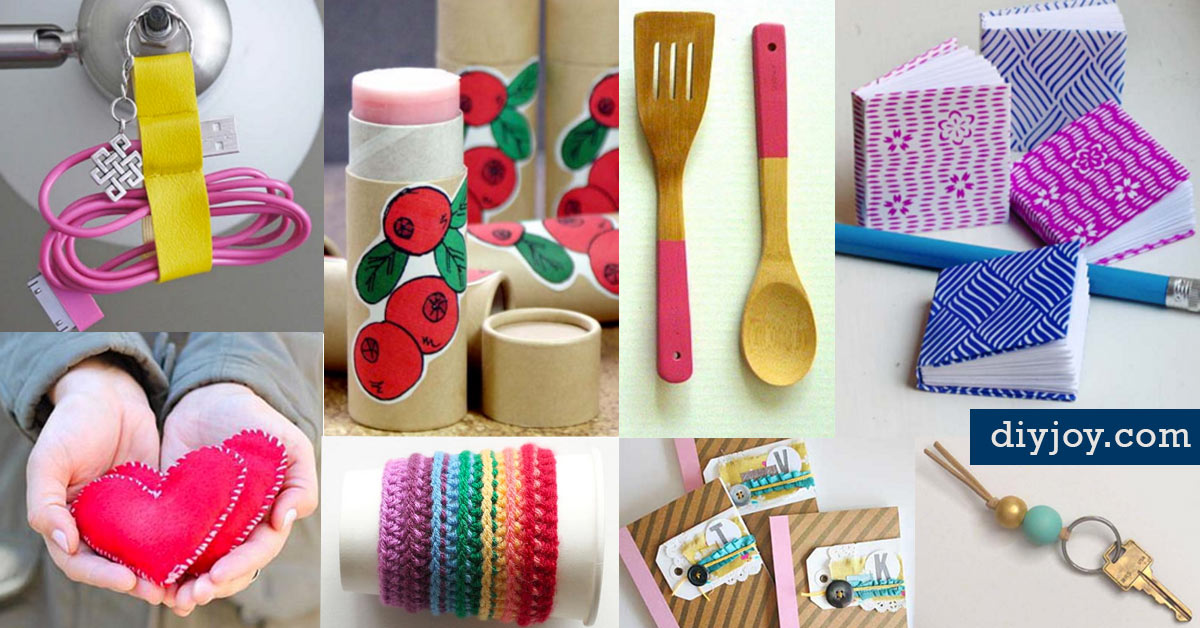 46 tiny homemade gifts