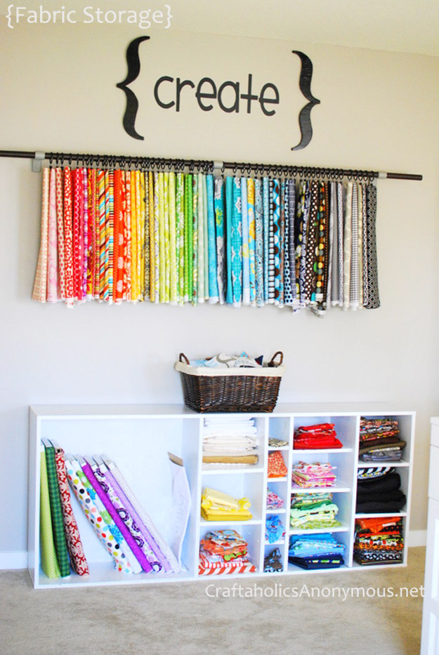 DIY Craft Room Ideas And Craft Room Organization Projects - Old Book