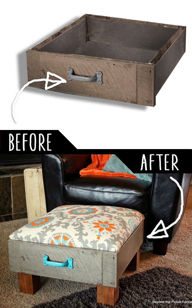 easy chairs with footrests chair covers sashes 39 clever diy furniture hacks