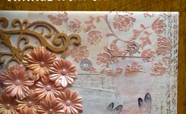 Vintage Wall Art Made Easy Diy Mixed Media Canvas
