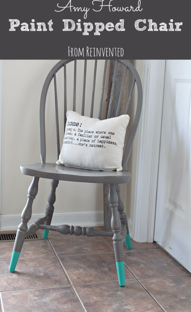 vintage peacock chair cabela s deer blind chairs 40 incredible chalk paint furniture ideas