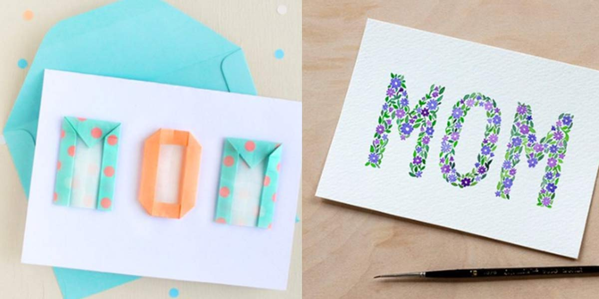31 DIY Mothers Day Cards