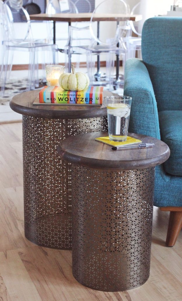 diy living room side tables ideas to decorate a 31 end with step by tutorials brass table cheap and