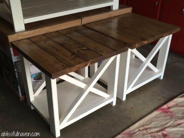 31 DIY End Tables