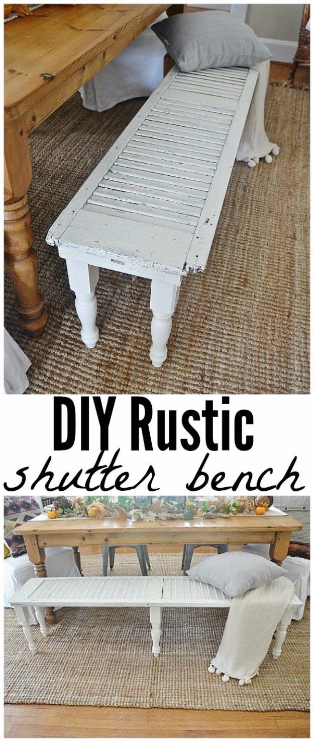 diy living room grey red and yellow ideas 38 brilliant decor rustic shutter bench cool modern
