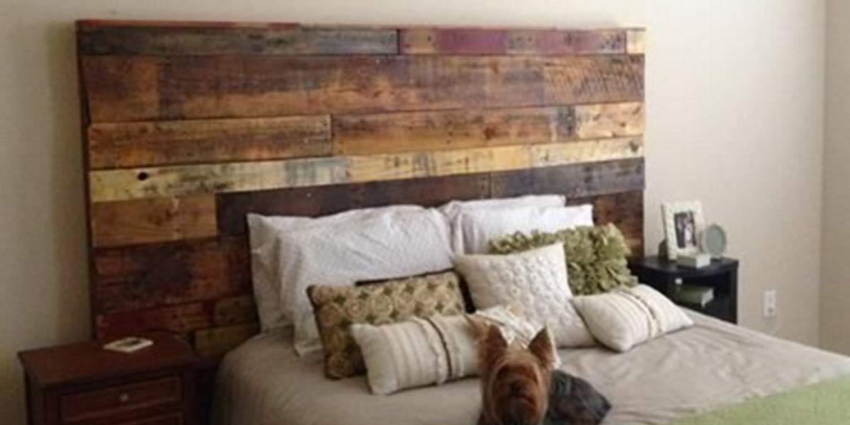Fabulous Rustic Headboard Made Out of Pallets Its So