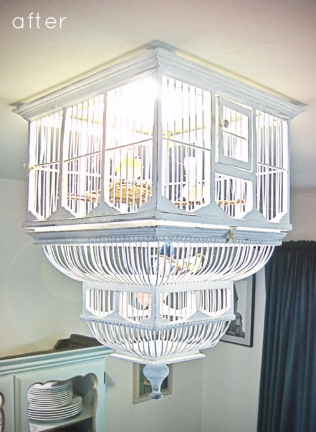 Diy Chandelier Ideas And Project Tutorials Birdcage Easy Makeover Tips Rustic Bedroom