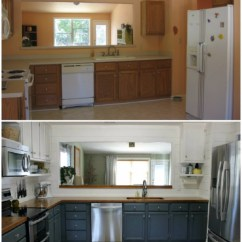 How To Redo Kitchen Cabinets On A Budget Target Stools 37 Brilliant Diy Makeover Ideas