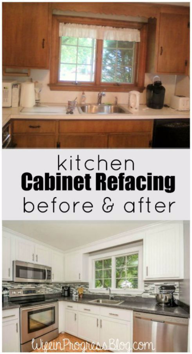 how to resurface kitchen cabinets 2x4 table 37 brilliant diy makeover ideas