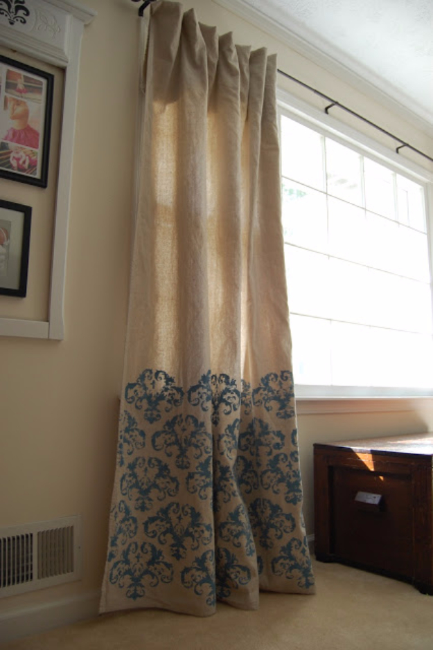 50 DIY Curtains and Drapery Ideas