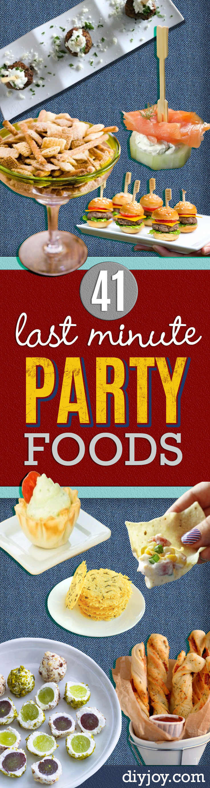 41 last minute party