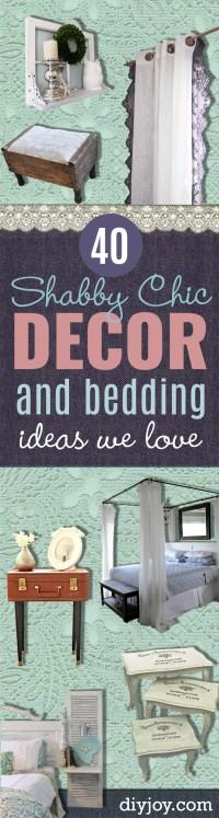 40 Dreamy Shabby Chic Decor and Bedding Ideas